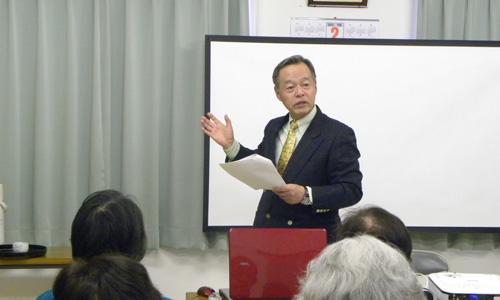 まちづくりNPOげんき宮城研究所 門間光紀講師